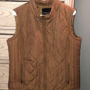 Tan/brown vest!